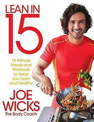 Joe Wicks Lean In 15 Collection all 3 Books PDF Files Not Hard Copy