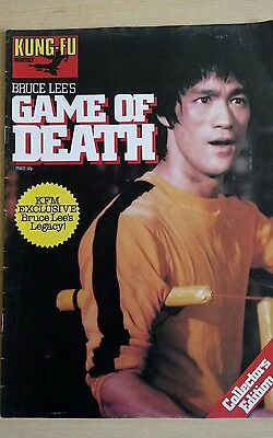 Kung Fu Monthly Collectors Edition Magazine 1975 Bruce Lee Game of Death