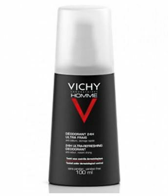 Vichy Homme Deodorant Vapo Intense Regulation 100Ml