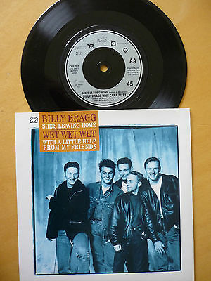 Billy Bragg =She's Leaving Home / Wet Wet Wet =With A Litle Help From My Friends