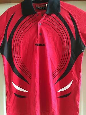 Tibhar Table Tennis Shirt  size Small