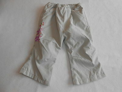 Baby Girls Clothes 3-6 Months - Pretty  Lined Trousers -