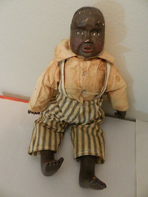 Vintage Black Americana Doll- Arnett's Country Store- Old South- Folk Art Doll