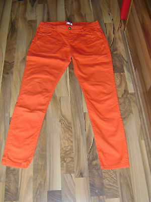 Hose Gr. 36 - Jeanshose in orange von Orsay