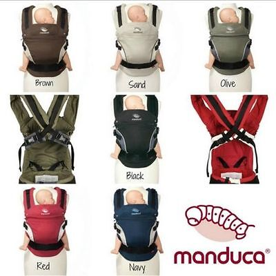 Manduca baby child cotton carrier sling ergo 3 ergonomic position front/back/hip