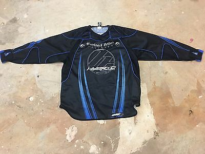 Dye Contract Killers Paintball Jersey Blue Black Hybric D7 XL