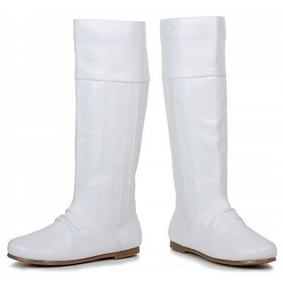 Princess Leia Boots Adult White Costume Shoes