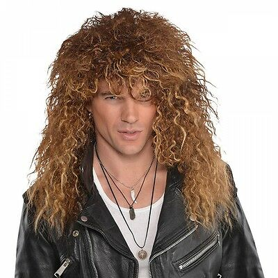 Glam Rock Wig Costume Accessory Adult Halloween