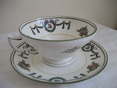 Antique Minton Ryrie Bros. Ltd. Toronto Tea Cup And Saucer  Made In England