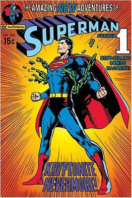 SUPERMAN - COMIC NUMBER 1 - POSTER 24x36 - DC JUSTICE LEAGUE 50248