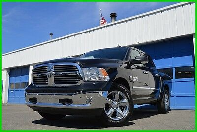 2016 Ram 1500 Big Horn Crew Cab 4X4 4WD Hemi 5.7L 17 Mls As New 26S Package Chrome Appearance Protection Grp  Rear View Camera As New  + More