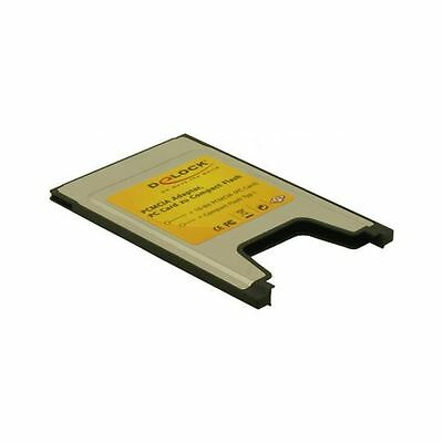 PCMCIA Card Delock 1x Compact Flash Card Reader Typ I 91051 Schede di memoria