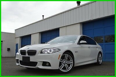 2015 BMW 5-Series 535i xDrive AWD M-Sport M Sport Excellent Save Big Navigation Premium Premium Cold Pkg Leather Power Trunk Rear View Camera Loaded