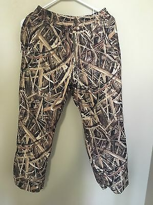 MSTC Drake Waterfowl Systems Mesh Lined Pants Mossy Oak Shadow Grass Size 14