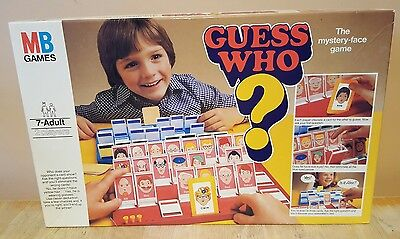 Original Vintage Retro Guess Who Board Game MB GAMES 1979. Excellent condition