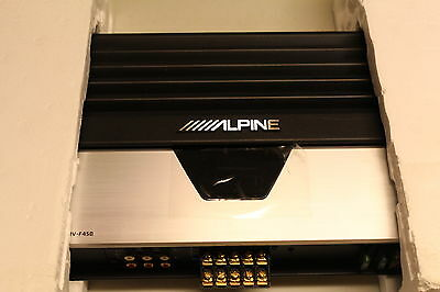 NEW Alpine MRV-F450 5-Channel Car Amp NOS Channel POWER Amplifier  5/4/3