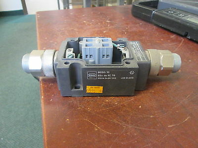 """Killark Stahl Explosion Proof Selector Switch 8030/118 16A 600V """"No Cover"""" Used"""