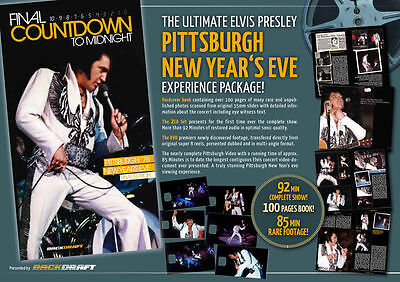 Elvis Presley FINAL COUNTDOWN TO MIDNIGHT rare cd dvd book aet SEALED