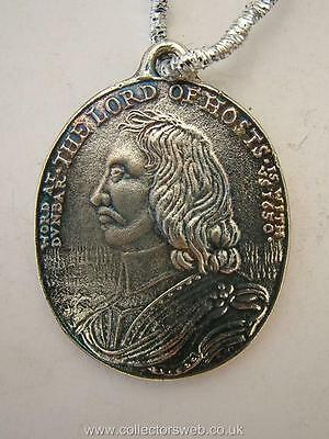 English Civil War Oliver Cromwell Battle Of Dunbar Silver Medal