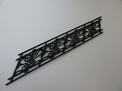 Dolls House Emporium Miniature 1:12th Scale House Garden Black Angled Railing