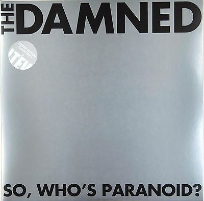 The Damned - So Who's Paranoid? (Limited 2 x 140g Clear Vinyl) New & Sealed