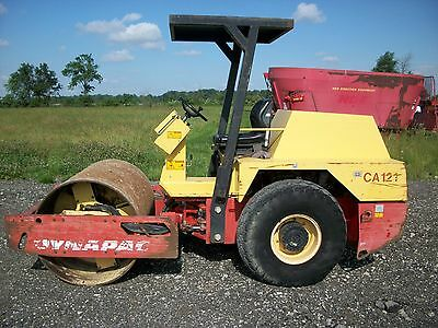 """2006 Dynapac CA121D 54"""" smooth drum vibratory compactor, Diesel, 1,062 hours"""