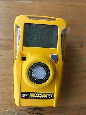BW Technologies BWC3-H gas detector/monitor (H2S/Hydrogen Sulphide) 3 Years