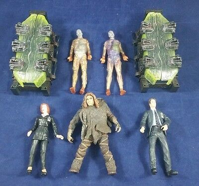 McFarlane toys X Files figures Scully Mulder Attack Alien (#14) 170613
