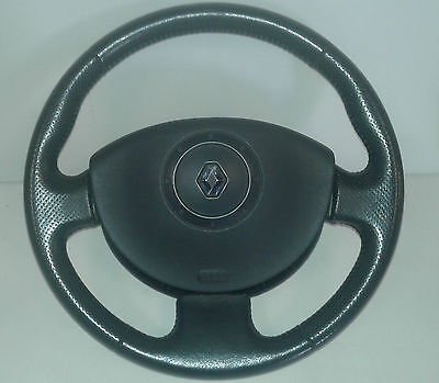 volant cuir + airbag  renault scenic II