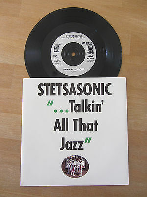 Stetsasonic ~ Talkin' All That Jazz ~ Expansions And Dominoes Mixes ~ Hip Hop 7""