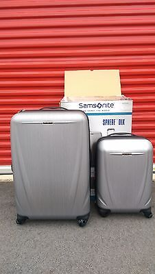 "Samsonite Luggage Sphere DLX 2-piece Hardside Spinner Set 28"" w 20"" Carry-On"