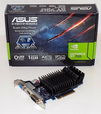 carte graphique Asus nvidia Geforce GT 720 1Gb DDR3