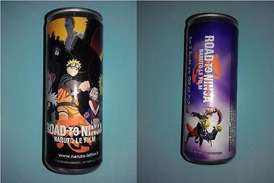 Canette Energy Drink Boisson énergisante 250ml Naruto le Film : Road to Ninja