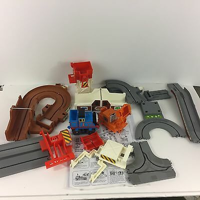TOMY THOMAS TRAIN BIG LOADER TRACK SET 2002 99% Complete Missing PERCY