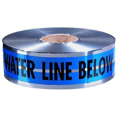 "31-022 Empire 3""X1000' Blue Prem ""Caution Water Line Below"" Pack of 4"