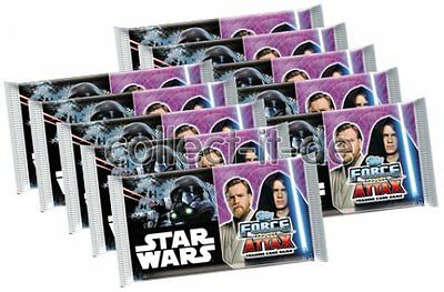TOPPS Force Attax - Star Wars - Universe - 10 Booster - Deutsch