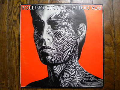 Disque vinyle 33 tours 33T LP - The Rolling Stones - Tattoo you