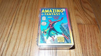 1992 Comic Images MARVEL SPIDERMAN 30th Anniversary Cards COMPLETE SET