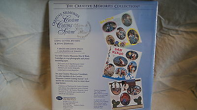 Creative Memories Cutting System Set - Ovals - New Never Opened