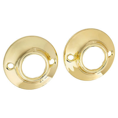 Jones Stephens S03152 Polished Brass Shower Rod Flange