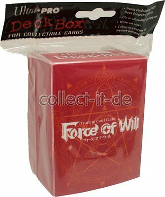Ultra Pro Deck Box - rot - Force Of Will