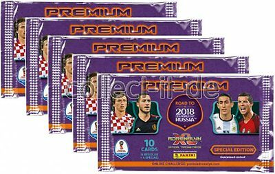 Panini Road to 2018 WM Russia PREMIUM - 5 Booster