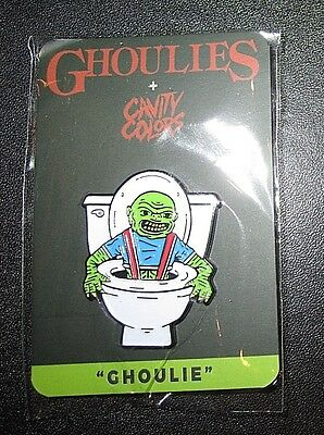 Ghoulies Limited Edition Enamel Pin Cavity Colors Licensed Horror Collectible