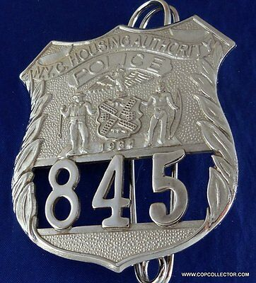 Obsolete, Vintage New York City Housing Authority Police Badge (Reproduction)