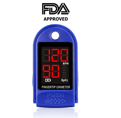 Pulse Oximeter - Accurate Readings - Take it Anywhere - Kids to Adults