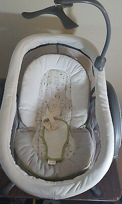 Graco DreamGlider 2-in-1 Gliding Swing and Sleeper - Fox Rascal/Works Great
