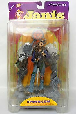 2000 McFarlane Toys Janis Joplin Mint in Worn / damage Box