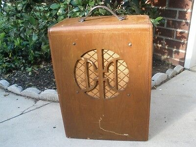 Vintage 1930's National Supro Tube Combo Amp - Very Rare - Sounds Great!