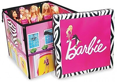 Barbie Zipbin Dream House Beautiful House Doubles As Storage and Play