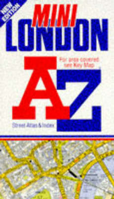 A-Z Street Atlas S.: A. to Z. Mini London Street Atlas by Geographers' A-Z Map